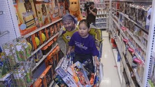 8-Year-Old Boy Suffering Rare Illness Gets Toy Shopping Spree