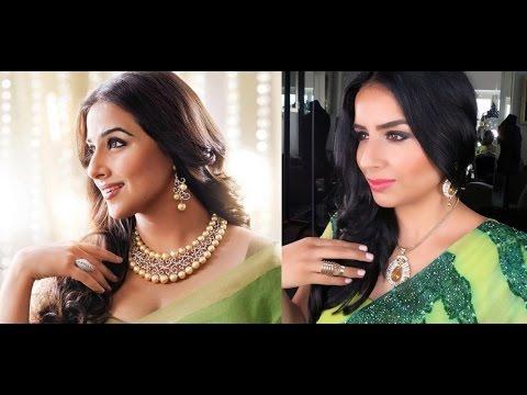 Vidya Balan inspired makeup look