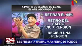 AFP: trámite para retiro de fondos se inicia el 16 de mayo (1/2)