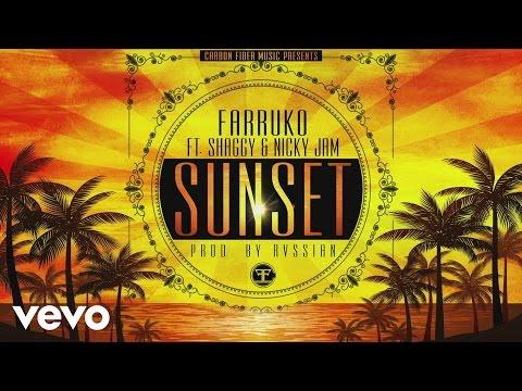 Farruko Sunset ft. Shaggy Nicky Jam Cover Audio