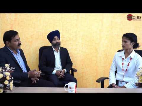 Interview of Mr. AR Asokan & Mr. Pamandeep Singh  By Ms. Neha Khati (MBA 1st Yr. Students) @ GIBS