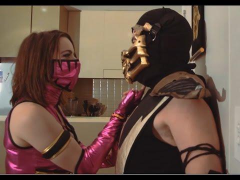 MK Roomies #42 - Scorpion's hot date