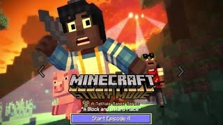 Minecraft Story Mode - Episode 4: A Block and a Hard Place (No Commentary)