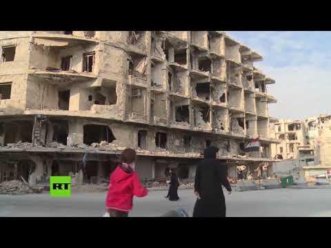 Siria: Comienza la reconstrucción de Alepo