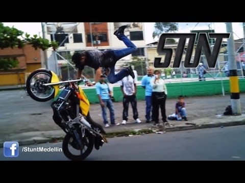 Stunt Medellín Superman La Rata