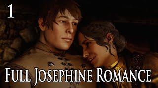 Dragon Age: Inquisition - Josephine Full Romance Scenes Part 1