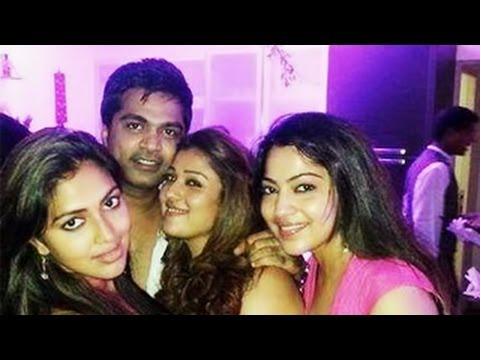 Actress Trisha's Birthday Party with Nayanthara and Simbu | Private Party Video