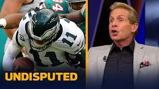 Dallas left door wide open for Eagles but they blew it with loss to Miami — Skip | NFL | UNDISPUTED