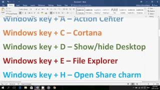 Windows 10 Top Windows key keyboard shortcuts to know and use