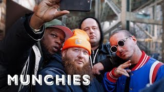 J Balvin & Action Bronson Visit New York