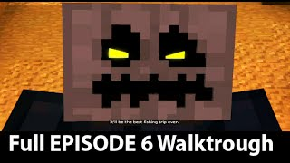Minecraft Story Mode Episode 6 Full Walkthrough NO Commentary
