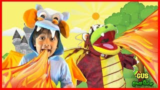Sing and Dance to Fly like a Dragon Song for Children