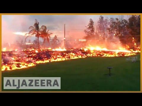 🌋 Kilauea Hawaii volcano forces thousands to flee their homes Al Jazeera English