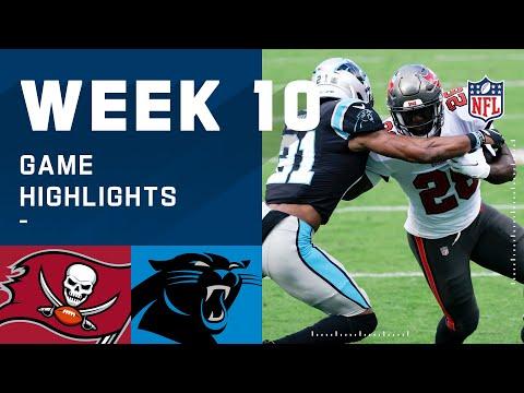 Buccaneers vs. Panthers Week 10 Highlights NFL 2020