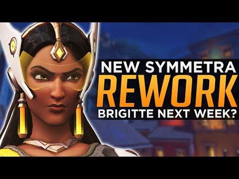 Overwatch NEW Symmetra Re Work Brigitte Release NEXT WEEK