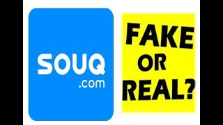 SOUQ.COM COSMETICS REVIEW!! FAKE OR REAL???