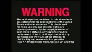 FBI Copyright Warnings!