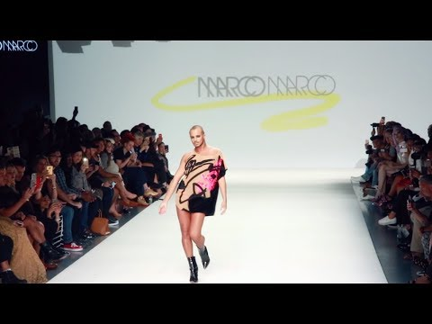 YANIS MARSHALL OPENING FOR MARCO MARCO. NEW YORK FASHION WEEK