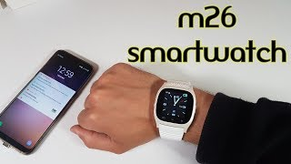 RWATCH M26 Smartwatch REVIEW in 2018! Worth buying? Super cheap gadget