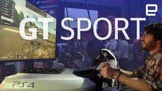 Gran Turismo Sport | Hands-On | E3 2017