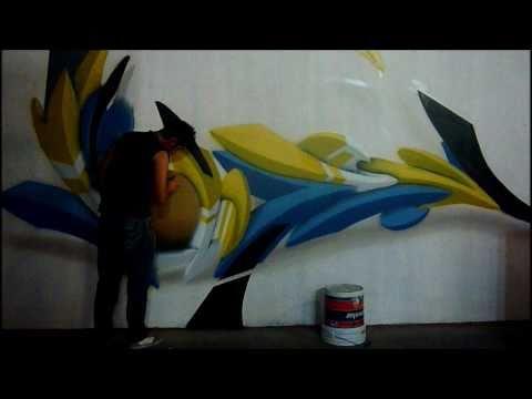 Rebokz 3D Graffiti Bai Crew