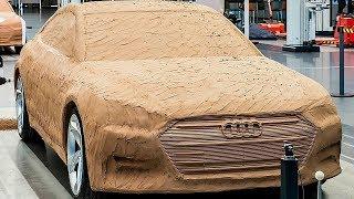 هكذا يتم صناعة السيارات الفاخرة من الصفر