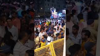 Muslims Felicitating Lalbaugh Chya Raja at Do Tanki Under Sajid Bhai