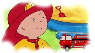 Funny Animated cartoons Kids |  Caillou the fireman | WATCH CARTOONS ONLINE | Cartoon for Children