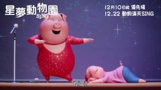 《星夢動物園》粵語配音版預告▕ SING - Cantonese Dubbed Trailer
