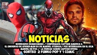 Noticias - Capitan América 4, Carnage y Venom en el UCM, Acuerdo Fox Marvel y más  | Strip Marvel