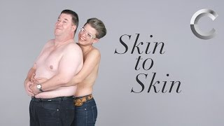 We asked strangers to hold each other skin to skin