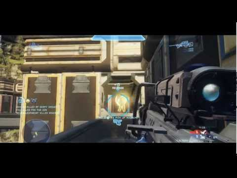 Muggsy's Halo 4 Competitive Highlights Montage 1