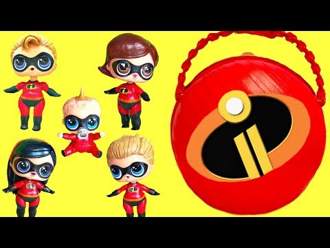 Xxx Mp4 LOL Surprise The Incredibles 2 Help Rescue Punk Boi And Lil Brother 3gp Sex