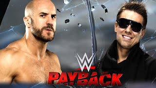 WWE PAYBACK 2016 [ORAKEL]: IC TITEL: The Miz (c) vs. Cesaro «» Let's Play WWE 2K16