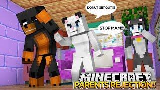 Minecraft roleplay - CASSIES MAM ATTACKS DONUT!! - donut the dog minecraft roleplay