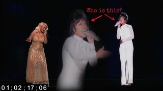 Whitney Houston Hologram | The Voice Fail