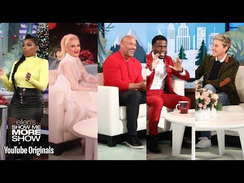 Jennifer Hudson Dwayne Johnson & Kevin Hart and Gwen Stefani on Blake