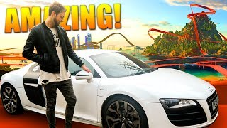 Racing MY CAR on the CRAZIEST track EVER!