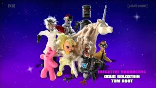 Adult Swim UK On FOX UK HD 21/01/2016 Continuity