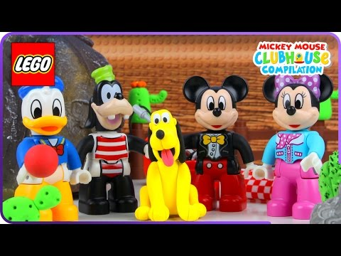 Xxx Mp4 ♥ LEGO Mickey Mouse PICNIC PROBLEMS W Minnie Mouse Donald Duck Chip Dale Cartoon For Kids 3gp Sex