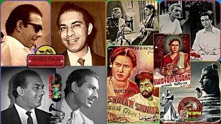 TALAT MEHMOOD-Film-SWAYAM SIDDHA-{1949}~Din Beet Chale-[ A Tribute To Great Legend ]