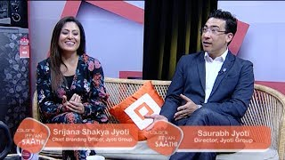 Saurabh Jyoti and Srijana Shakya Jyoti | Building Empire Together | Jeevan Saathi with Malvika Subba