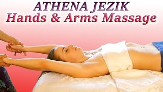 Hands & Arms Massage Relaxation Techniques - Full Body Series 5 of 7 HD 60P ASMR Athena Jezik