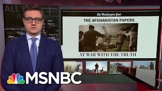 Chris Hayes On WaPo's Afghanistan Papers: 'End The War Now' | All In | MSNBC