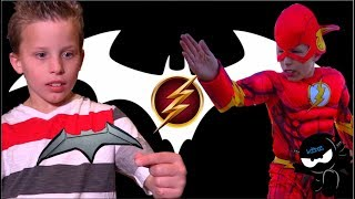 The Flash meets Batman! Ninja Kidz