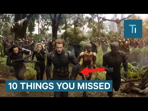 Xxx Mp4 Avengers Infinity War Trailer 10 Things You Missed 3gp Sex