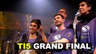 DOTA 2 TI5 GRAND FINAL EG vs CDEC