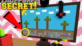 Minecraft: SECRET IN THE COMPUTER!!! - BIG HOUSE LITTLE BUTTONS - Custom Map [2]