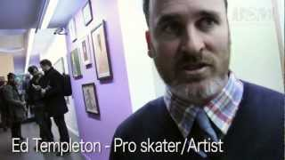 Ed Templeton - Symptoms - Interview at Expo Antwerp, Belgium 2013