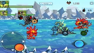Cartoon Wars 3 - ( 7 Stars Combination 20 + New 7 Stars Gunner Unit )